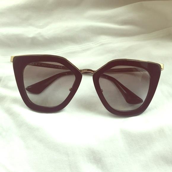 5899a03ec2ee PRADA 52mm Cat Eye Sunglasses ❤ . M 5ac26dbc5512fdd879961924